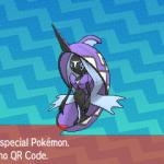 288 Pokemon Sun and Moon Tapu Fini QR Code