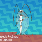 295 Pokemon Sun and Moon Pheromosa QR Code