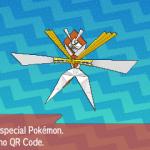 298 Pokemon Sun and Moon Kartana QR Code