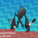300 Pokemon Sun and Moon Necrozma QR Code