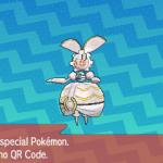 301 Pokemon Sun and Moon Magearna QR Code