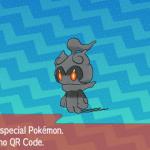 302 Pokemon Sun and Moon Marshadow QR Code