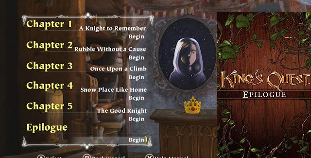 King's Quest 2015: Epilogue Walkthrough