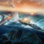 World of Warships Flat Earth Wallpaper