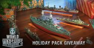 World of Warships Holiday Pack Codes Giveaway
