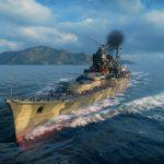 World of Warships Myoko Wallpaper