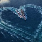 World of Warships Valentines Day Wallpaper