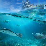 World of Warships World Oceans Day Wallpaper