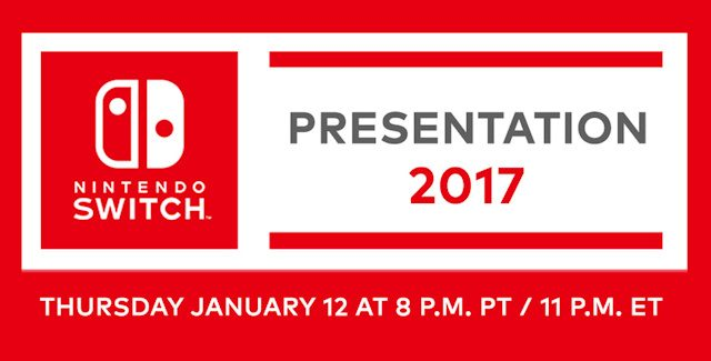 Nintendo Switch Presentation 2017 Live Stream