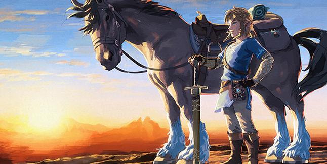 The Legend of Zelda: Breath of the Wild Artwork