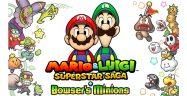 Mario & Luigi: Superstar Saga + Bowser's Minions Banner