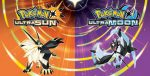 Pokemon Ultra Sun and Ultra Moon Logos