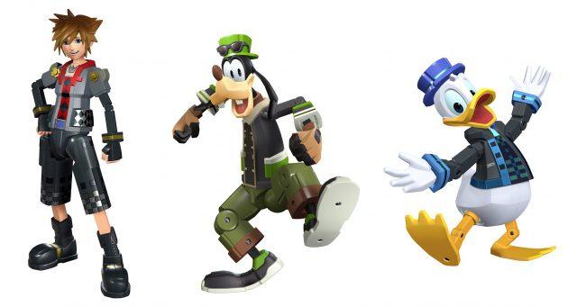 KH3 Toy Story World Sora Goofy Donald