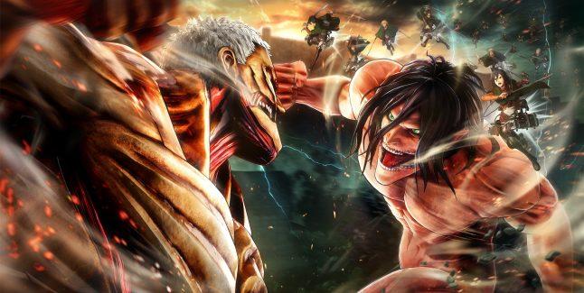 Attack on Titan 2 Artwork