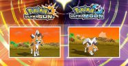 Pokemon Ultra Sun and Ultra Moon Dusk Form Lycanroc