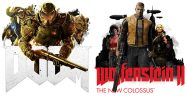 Doom and Wolfenstein II The New Colossus Banner