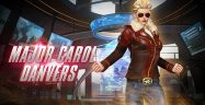 Major Carol Danvers Costume Banner