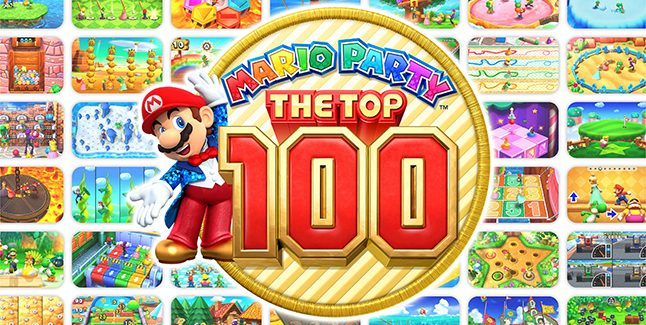 Mario Party The Top 100 Banner