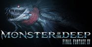 Monster of the Deep: Final Fantasy XV Key Art Logo