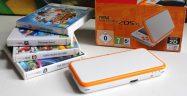 New 2DS XL Orange & White Edition Banner