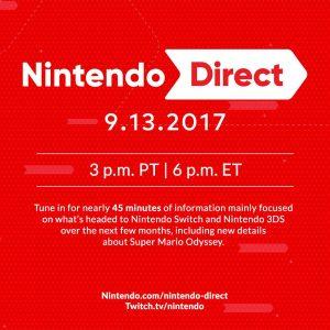 Nintendo Direct September 2017 NA