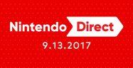 Nintendo Direct September 2017