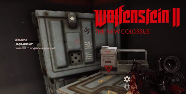 Wolfenstein 2: The New Colossus Weapon Upgrade Kits Locations Guide