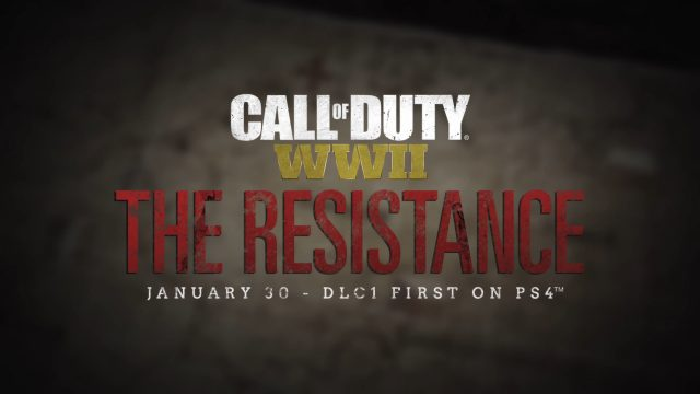 Call of Duty WW2 DLC Pack 1 The Resistance