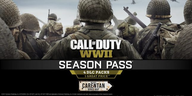Call of Duty WW2 DLC Release Dates