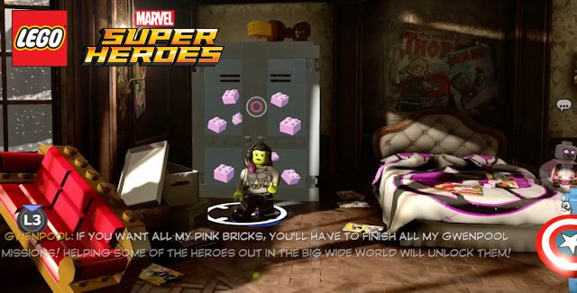 Lego Marvel Superheroes 2 Pink Bricks Locations Guide