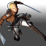 Attack on Titan 2 Reiner Braun Render