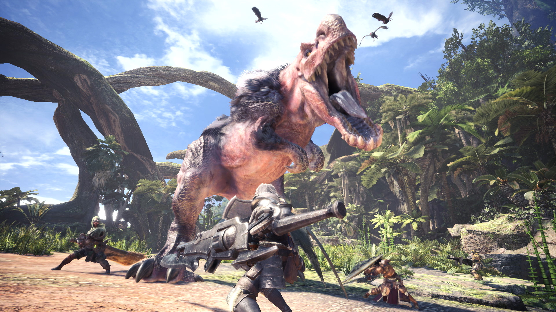 Monster Hunter World Beta Screen 1