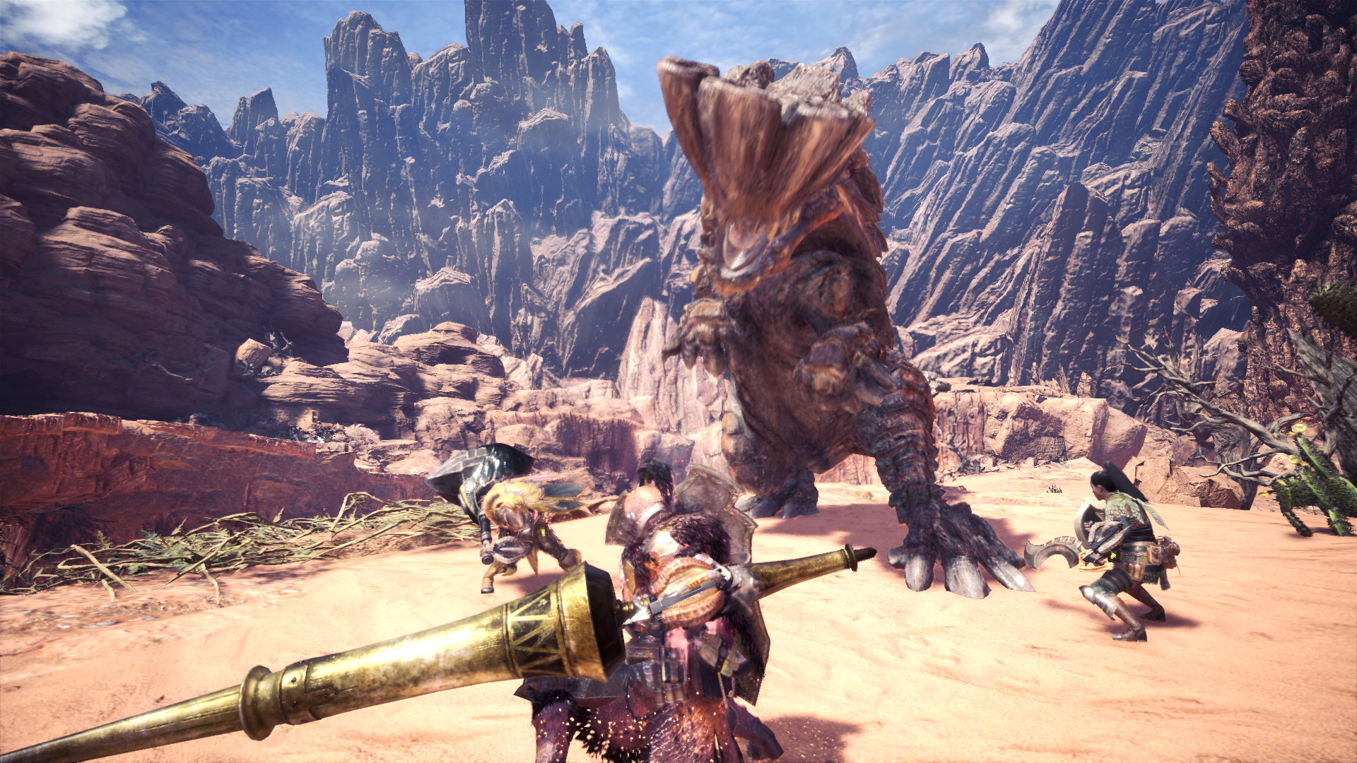 Monster Hunter World Beta Screen 2