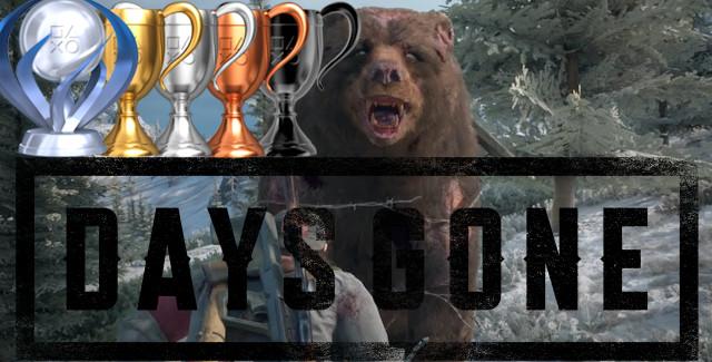 Fortnite Trophy Guide Ps4 Days Gone Trophy Guide Video Games Blogger