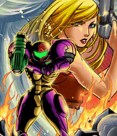 Samus Cool Art (Zero Mission)