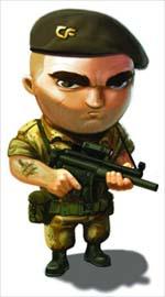 Cannon Fodder PSP character art