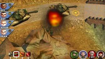 Cannon Fodder on PSP