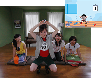 WarioWare: Smooth Moves on Wii also gets you active