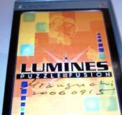Lumines autographed