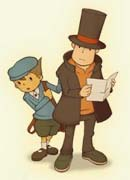 Professor Layton and the Mysterious Village characters