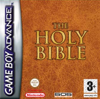 Nintendo Game Boy Advance Holy Bible