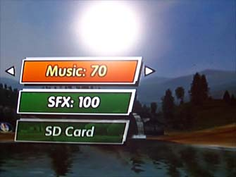 Excite Truck SD card music