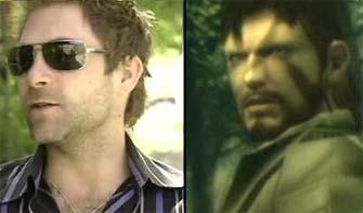 David Hayter voices Solid Snake