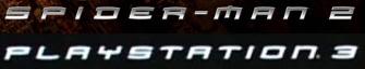 Spider-Man font on PlayStation 3
