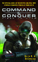 Command and Conquer Tiberium Wars novel cover