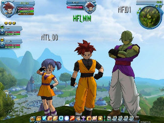 Dragon Ball Online new characters screenshot