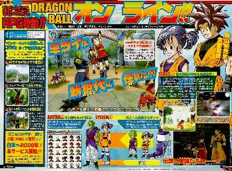 Dragon Ball Online scan