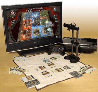 Eye of Judgement PlayStation Eye set with stand and cards