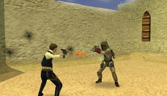 Star Wars Battlefront: Renegade Squadron Han Solo screenshot