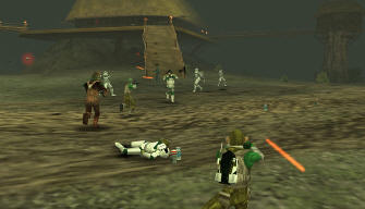 Star Wars Battlefront: Renegade Squadron PSP screenshot